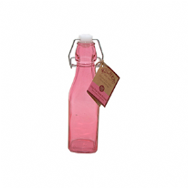 Kilner Clip Top Pink Bottle 250ml